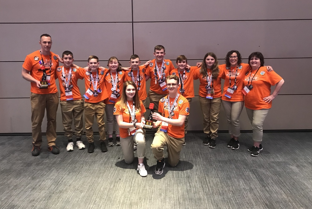 Tiger Techs Robotics Team Places 1st at World Championship!