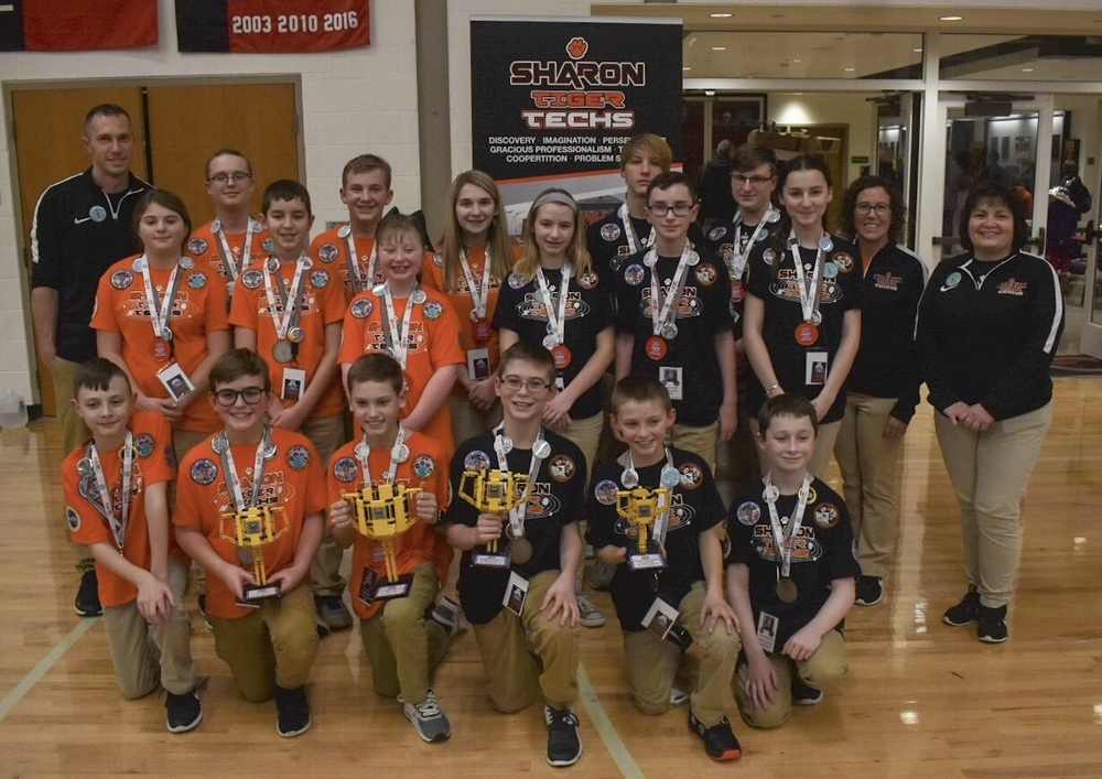Sharon Robotics Teams Advance to World Events