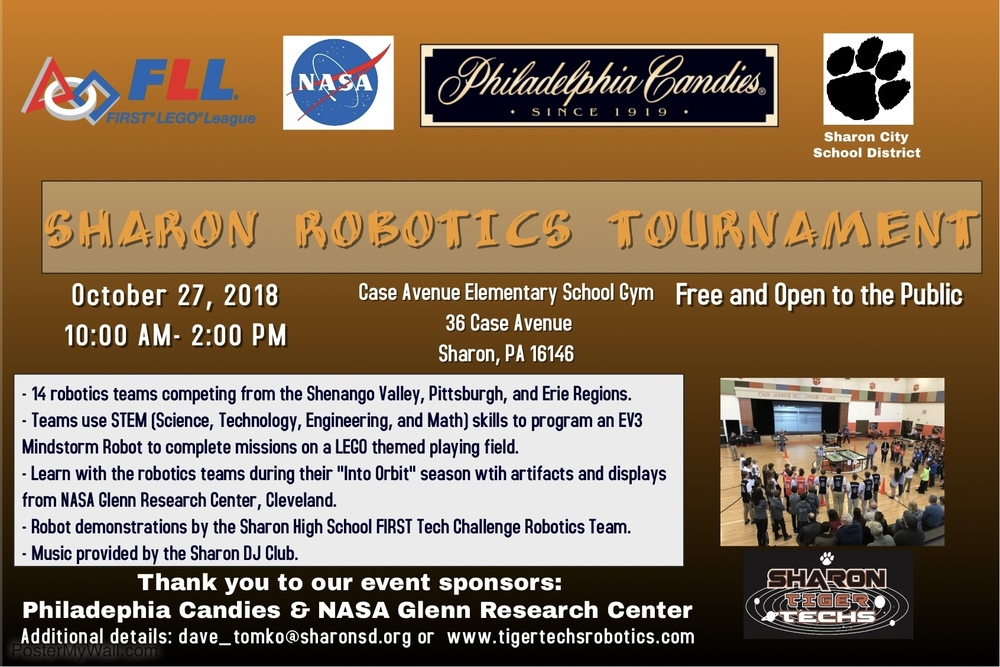 Sharon FLL Robotics Tournament