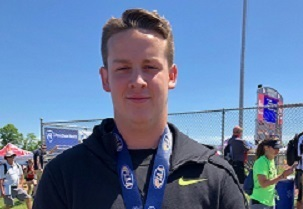 Sharon's Noah Weese Places 2nd at States with Record Throw