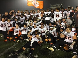 Sharon Tigers Back-to-Back D10 3A Champs!