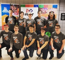 Sharon High School Robotics Team Advances to States